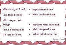 Speaking Hindi