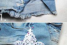 Customize / Customização de roupas e bijus