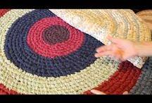pletenie z textilu