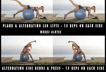 Serie di esercizi x rinforzo muscolare