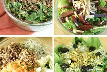 Food; Salads / by MXS Maxine Smith