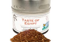 Egyptian Cuisine / Bringing the za'tar home with this blend that takes you to Egyptian flavortown. Season chicken or put in a marinade for distinct flavor.