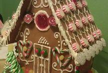 navidad casa gengibre
