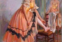 Балерины в живописи