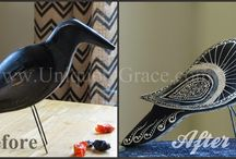 Painted/Refinished Home Decor Items