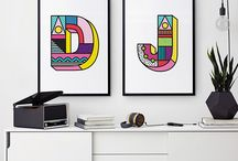 Art Prints by Inky Editions / Art prints designed by Inky Editions.