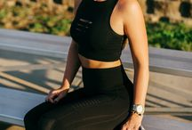 Fitness & Athleisure Wear / Fitness & Athleisure Wear. Curated by Vanessa Krombeen of TheCheekyBeen Blog