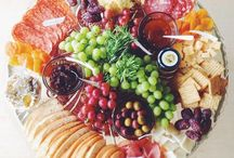 Platters for baby shower