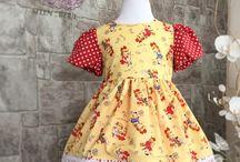 Girl dress handmade