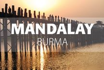 Mandalay, Burma / Mandalay was once the capital of the Konboung Dynasty, the third Myanmar Empire. Located in the heart of the country, the city is now a bustling commercial centre and a repository of ancient Burmese culture.