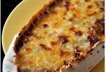 quiche, pizza...