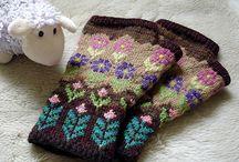 Eldiven / knit gloves mittens