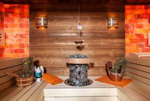 Saune IBEK cu sare de Himalaya