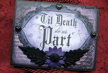 Goth wedding <3