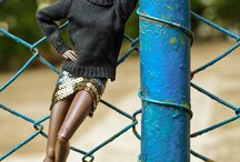 Miniature Models / Featuring a staggering array of fashion dolls (and fashionable human dolls, in some cases) that inspire me to keep adding new faces to my miniature-model agency. / by Wil'sFaves