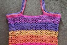 Patterns using Yarn Cakes