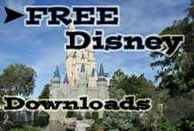 Disney Freebies & Free Stuff / Downloads, fun free things and more for your Disney trip or to keep you in a Disney state of mind!