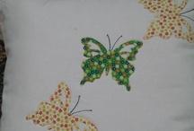 cuscino con farfalle