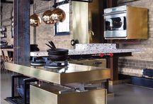 Brass Accents Kitchen