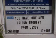 church ministry signs / by Jennifer Vincent