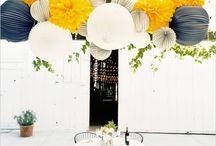 D E C O // Plafonniers / Tableau d'inspirations pour décorer les plafonds