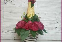 Decor bottles  Декор бутылок / Декор бутылок с напитками для женщин. Отличный подарок для любого случая! Вы можете купить в моем магазине : https://www.livemaster.ru/mydecor https://www.instagram.com/tasha.mydecor/