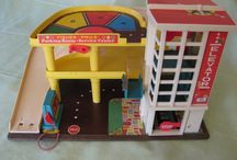 Can I be a kid again? / Fisher Price Garage