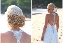 Beach Wedding Hair  / Beach Wedding Hair Designs by Lisa Allen www.makeupartistphuket.com