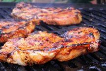 porc  grille
