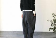 Les beaux pantalons