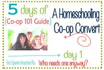 Homeschooling and Co-ops / Tips to help plan co-ops