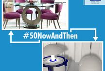 #50NowAndThen / #50NowAndThen shows today and the future #FuturisticLiving