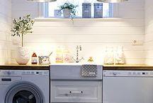 Huset- tvättstuga