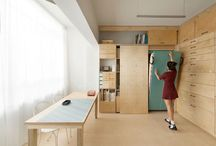 Little-maxi spaces / little space for living maxi space for keep things