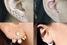 Earring Jackets and Climbers