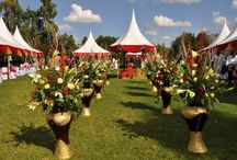 Wedding Tents, Chairs & Tables / http://weddingskenya.com/listings/all/tents-chairs-and-tables