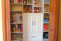 Pantry Ideas / examples of what Closet City can do for organizing your PANTRY!