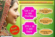Tamil Matrimony-Multi Info Matrimony Aadi  Offer