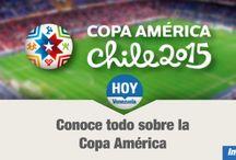 Copa América Chile 2015 / Todos lo referente a la Copa America Chile 2015, que se celebrará a partir de este 11 de junio.