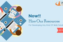 Infograins: Hire Our Resources
