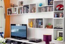 Nichos para Sala / Neste board você vai encontrar inspirações de nichos para sala de tv, nicho de parede para sala, nichos para sala de jantar e muitos modelos de nichos. Confira! #nichosparasala #nichosdeparede #nichoparasaladejantar #modelosdenichos #decoracao