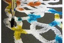 Kunstproduksjon av barn