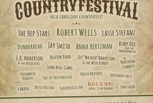 Söderslätts Countryfestival 2015 / Officiell Poster 2015 #SCF2015