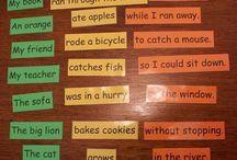 Build sentences 2