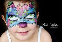 Pinturas faciais-Monstros