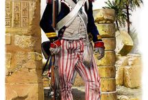 First napoleonic uniforms
