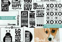 Templates: Valentines/Love / Products for scrapping Valentine's Day, or pages about love.