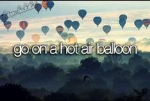 Bucketlist / Things to do before I die