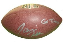 Clemson Tigers Autographed Football Collectibles / Welcome to my selection of autographed Clemson Tigers footballs & more. We at Southwestconnection-Memorabilia offer a wide variety of autographed NCAA collectibles including Footballs, Full Size Helmets, Mini Helmets, Jerseys, Pylons & Lithos! Please check out my website: www.AutographedwithProof.com for additional autographed memorabilia, including MLB, NFL, NHL, NBA and more! All items include photographic proof of our encounter with the athlete to insure authenticity!