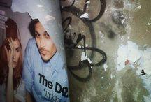 Affiches déchirées (Torn posters - My photos)